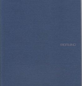 """Italy Fabriano EcoQua Blank Notebook, Navy, 8.25"""" x 11.5"""", 40 Sheets"""