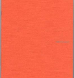 "Fabriano EcoQua Blank Notebook, Orange, 8.25"" x 11.5"", 40 Sheets"