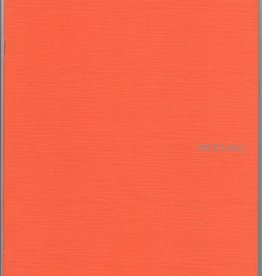 "Italy Fabriano EcoQua Blank Notebook, Orange, 8.25"" x 11.5"", 40 Sheets"