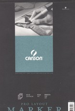 "Domestic Canson, Pro Layout Marker, 9"" x 12"", 18lb/70gm, 50 Sheets"