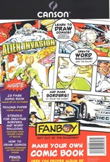 "Domestic Canson, Fanboy, Make Your Own Comic Book, 6.75"" x 10.5"", 28 Pages, Blank Comic Book"