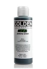 Golden Fluid Acrylic Paint, Jenkins Green, Series 7, 4fl.oz, Bottle