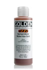 Golden Fluid Acrylic Paint, Quinacridone Gold, Series 7, 4fl.oz, Bottle