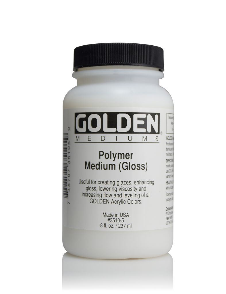 Golden, Medium Gloss, 8 Fl Oz.