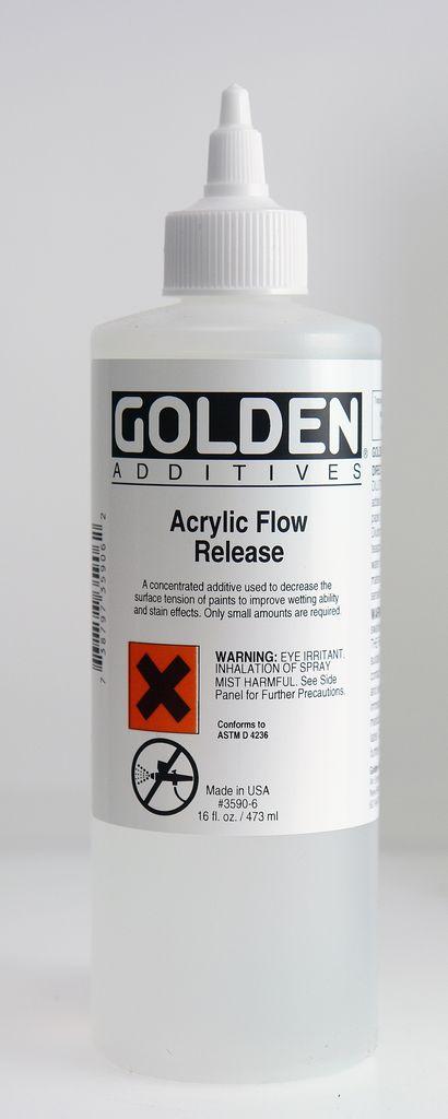 Golden, Acrylic Flow Release, Medium, 16 Fl Oz.