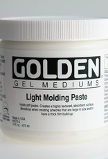 Golden, Light Molding Paste, Medium, 8 oz Jar