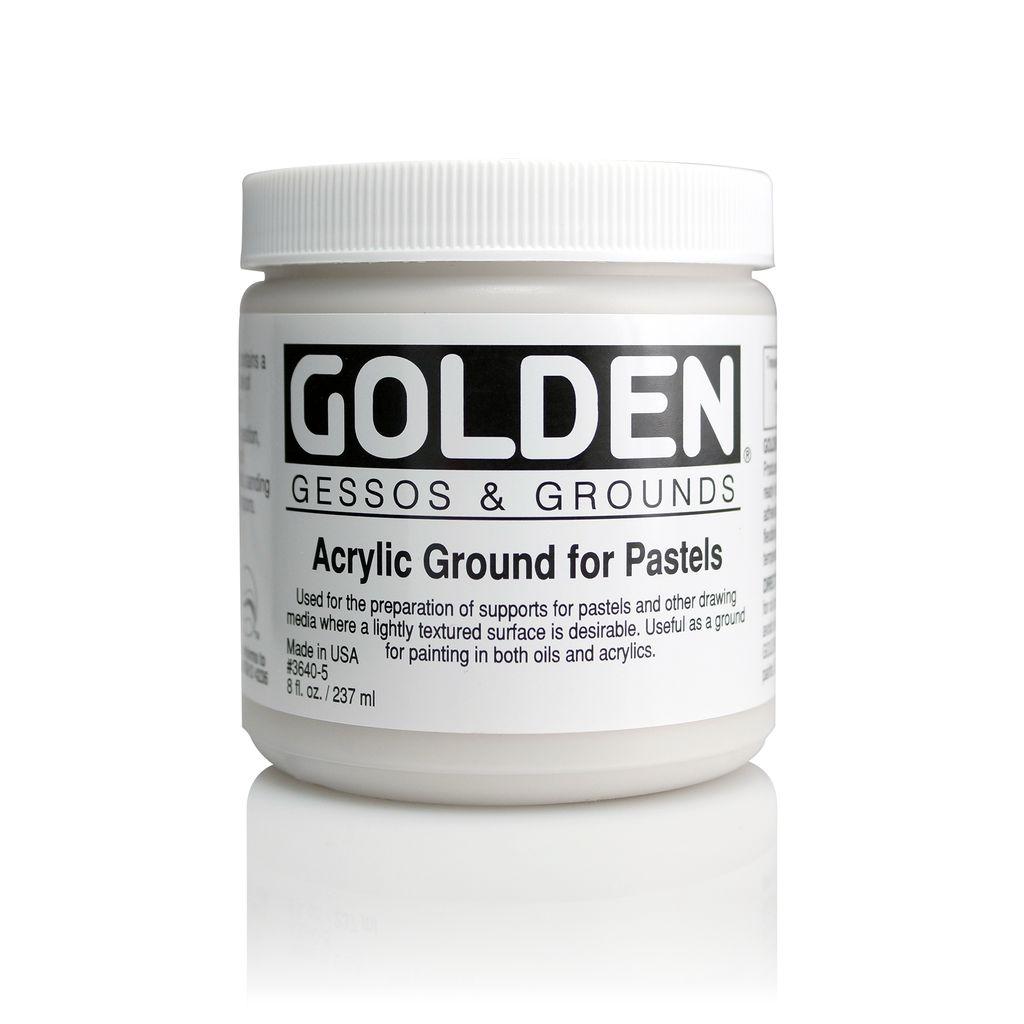 Golden, Acrylic Ground for Pastels, Medium, 8oz Jar