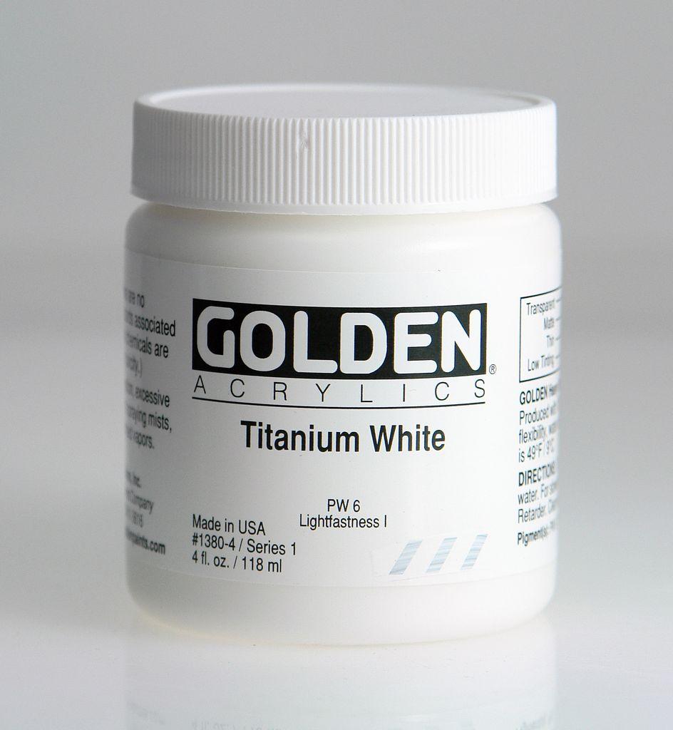 Titanium White 4oz