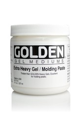 Golden, Extra Heavy Gel, Molding Paste, 8 oz