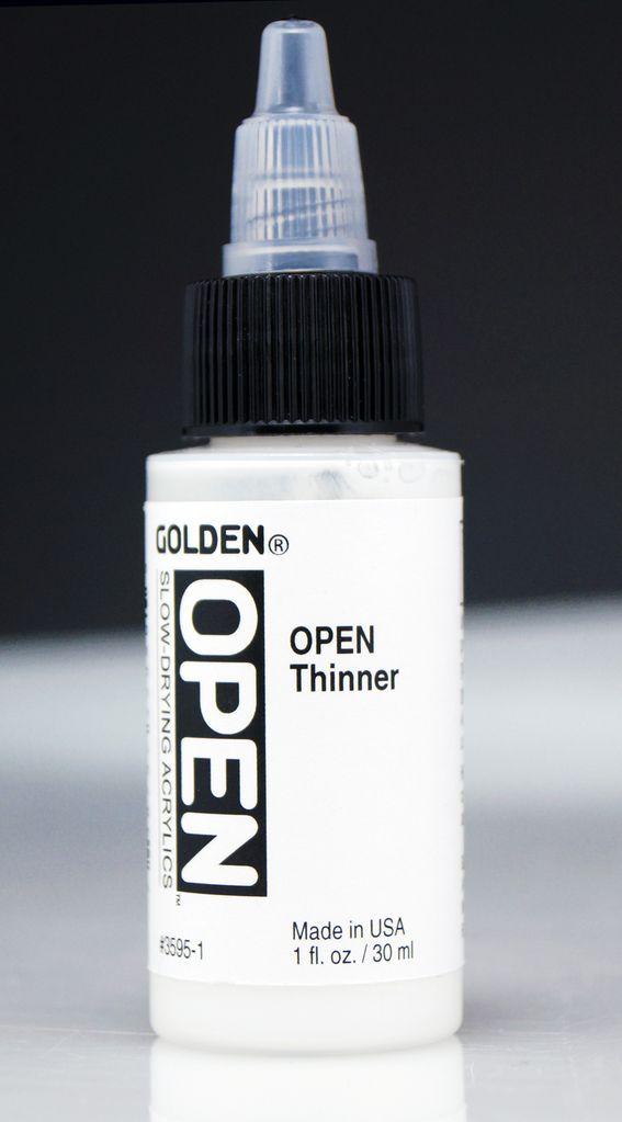 Golden OPEN Acrylic Thinner, 1 Fl Oz.