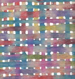 "Mexico Amate Weave Rainbow, 15"" x 23"""