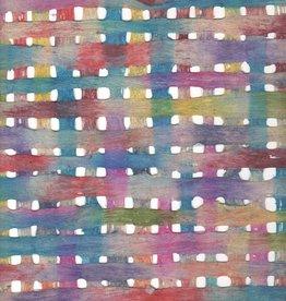 "Mexico Amate Weave Rainbow, 15"" x 23"""