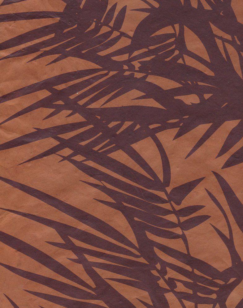 "Nepal Lokta Bamboo Nutmeg, 20"" x 30"""