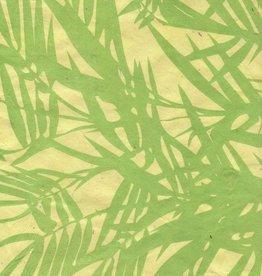 "Nepal Lokta Bamboo Yellow, 20"" x 30"""