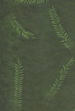 "Nepal Lokta Fern on Forest, 20"" x 30"""