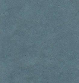 """Nepal Lokta Stonewashed Blue, 20"""" x 30"""""""