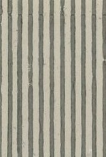 "India Indian Grey Stripes, 22"" x 30"""