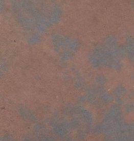 """Nepal Lokta Pinto Light Blue with Walnut, 20"""" x 30"""""""