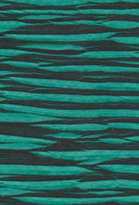 "Nepal Electric Zigzag, Teal Green, 20"" x 30"""