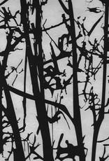 """Nepal Lokta Bare Birch Screenprint, 20"""" x 30"""""""