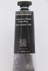 France Sennelier, Fine Artists' Oil Paint, Olive Green, 813, 40ml Tube, Series 3