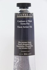 France Sennelier, Fine Artists' Oil Paint, French Ultramarine Blue, 314, 40ml Tube, Series 2