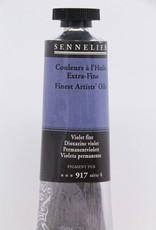 France Sennelier, Fine Artists' Oil Paint, Dioxazine Violet, 917, 40ml Tube, Series 4