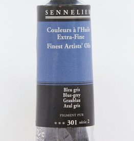 France Sennelier, Fine Artists' Oil Paint, Blue-Grey, 301, 40ml Tube, Series 2