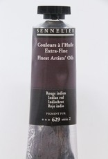France Sennelier, Fine Artists' Oil Paint, Indian Red, 629, 40ml Tube, Series 2
