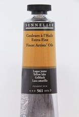 France Sennelier, Fine Artists' Oil Paint, Yellow Lake, 561, 40ml Tube, Series 3