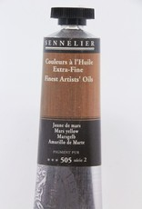 France Sennelier, Fine Artists' Oil Paint, Mars Yellow, 505, 40ml Tube, Series 2