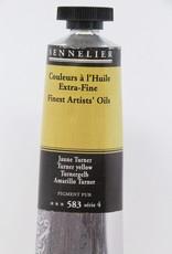 France Sennelier, Fine Artists' Oil Paint, Turner Yellow, 583, 40ml Tube, Series 4