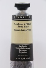 France Sennelier, Fine Artists' Oil Paint, Unbleached Titanium, 138, 40ml Tube, Series 1