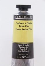 France Sennelier, Fine Artists' Oil Paint, Naples Yellow, 567, 40ml Tube, Series 2