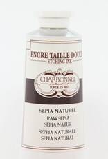 France Charbonnel, Etching Ink, Raw Sepia, Series 2, 60ml, Tube