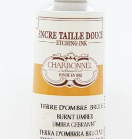 France Charbonnel, Etching Ink, Burnt Umber, Series 2, 60ml, Tube