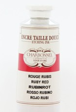 France Charbonnel, Etching Ink, Ruby Red, Series 6, 60ml, Tube