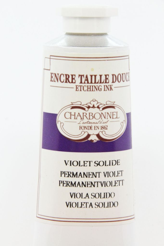 France Charbonnel, Etching Ink, Permanent Violet, Series 6, 60ml, Tube