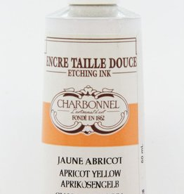 France Charbonnel, Etching Ink, Apricot Yellow, Series 4, 60ml, Tube