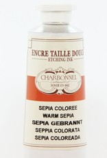 France Charbonnel, Etching Ink, Warm Colored Sepia, Series 2, 60ml, Tube