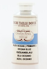 France Charbonnel, Etching Ink, Ocean Blue, Series 4, 60ml, Tube