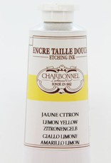 France Charbonnel, Etching Ink, Lemon Yellow, Series 4, 60ml, Tube
