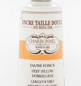 France Charbonnel, Etching Ink, Deep Yellow, Series 3, 60ml, Tube