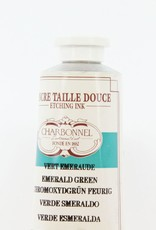 France Charbonnel, Etching Ink, Emerald Green, Series 4, 60ml, Tube