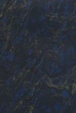 "France French Marble #924, Blue 19"" x 25"""