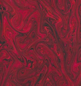 """France French Marble #609, Red 19"""" x 25"""""""