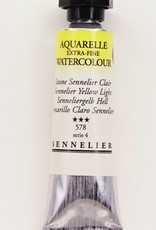 France Sennelier, Aquarelle Watercolor Paint, Yellow Light, 578,10ml Tube, Series 1