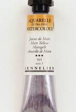 France Sennelier, Aquarelle Watercolor Paint, Mars Yellow, 505,10ml Tube, Series 3 (Discontinued Color)