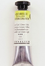 France Sennelier, Aquarelle Watercolor Paint, Cadmium Lemon Yellow, 535,10ml Tube, Series 4
