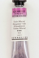 France Sennelier, Aquarelle Watercolor Paint, Manganese Violet, 915,10ml Tube, Series 4 (Discontinued Color)